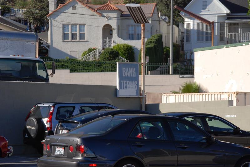 2010, Parking Lot Sign