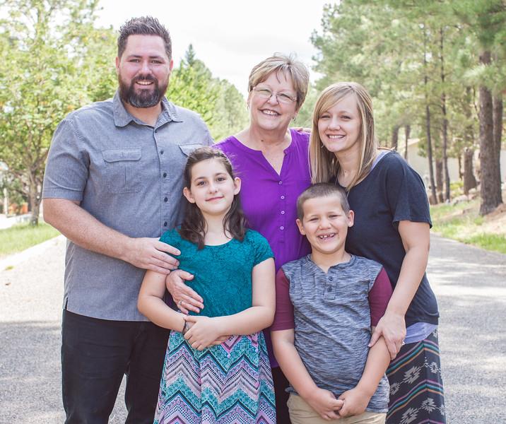 Ruidoso Family Photos 2016
