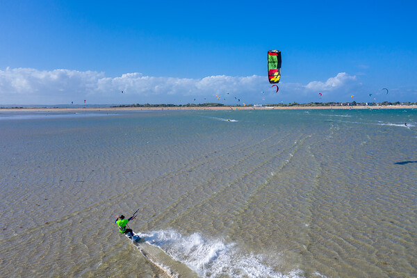 Kite Boarding - Hayling Island / Eastney