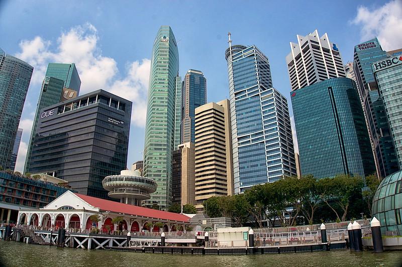 Skyline from Marina Bay