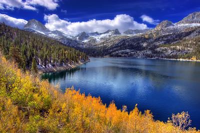 Fall colors at North Lake, Eastern Sierra, CA