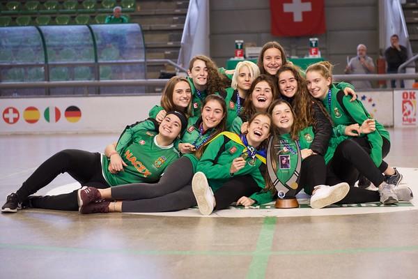 U17 Female European Tournament Awarding Ceremony '18