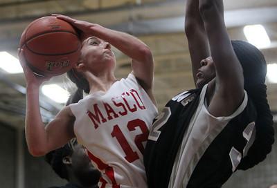 Masco vs Cambridge Girl's Basketball D1 Tournament