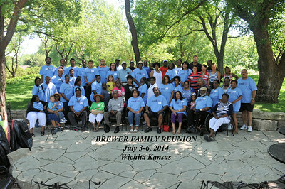 Brewer Family Reunion July 4, 2014