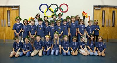 ECCS 3rd grade Olympic Day Oct 2019