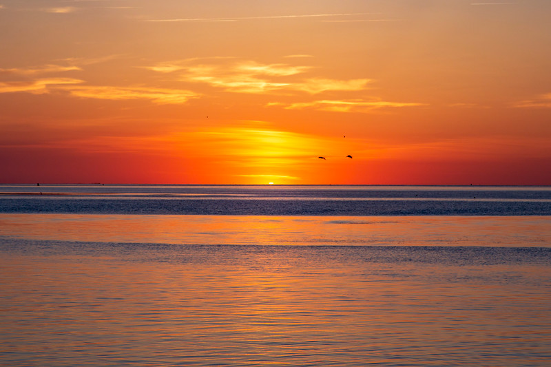 Outer Banks Ferry Sunset