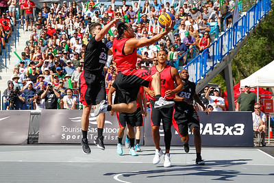 2018 FIBA 3X3 World Tour Saskatoon vs Montreal