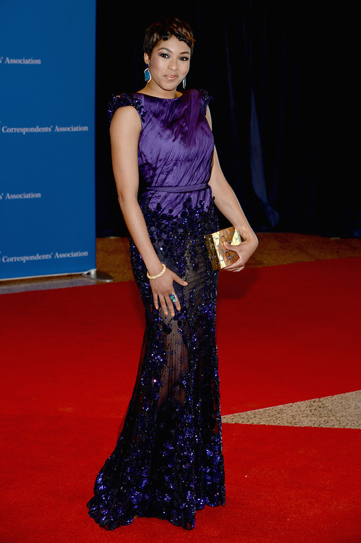 . Alicia Quarles attends the 100th Annual White House Correspondents\' Association Dinner at the Washington Hilton on May 3, 2014 in Washington, DC.  (Photo by Dimitrios Kambouris/Getty Images)