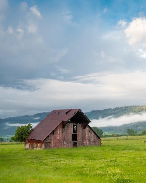 Old barn (Wallowa Wanderlust workshop)