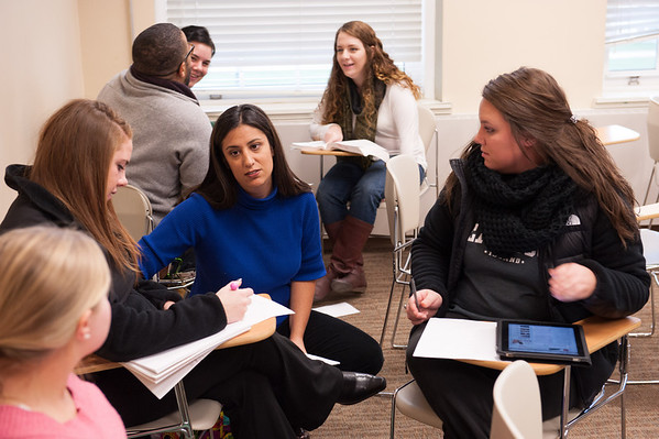 11/4/13 Dr. Adrienne Costello's English Class