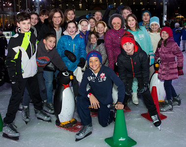 Winter Ice Skating Party at Bryant Park 2017