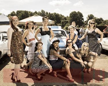 Warminster Car Show and Pin-ups 2013
