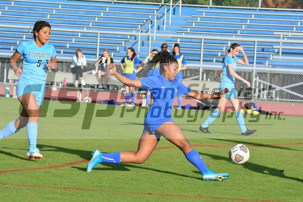 JV Girls soccer vs Wekiva 01*09*20