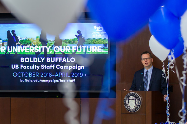 180309 Advancement, Boldly Buffalo, Faculty and Staff Event, Capen Hall