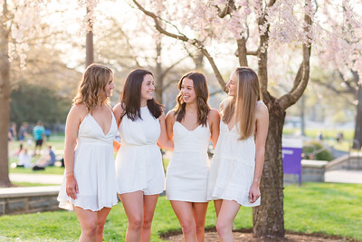 Copelyn, Kate, Grace, and Sophie's Grad Session