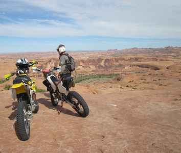 Moab Dirt Biking Fall 2016