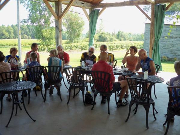 Rando et vélo à Sutton  (2 au 5 septembre 2011)