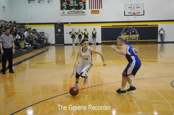 Basketball vs Northwood-Kensett