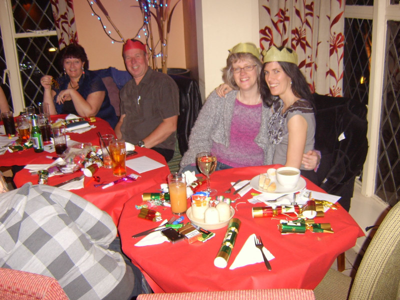 Christmas meal at the Three Hammers