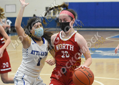 Attleboro - North Attleboro Girls Basketball 2-15-21