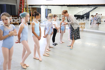 Westside Ballet Nutcracker Rehearsal 2018