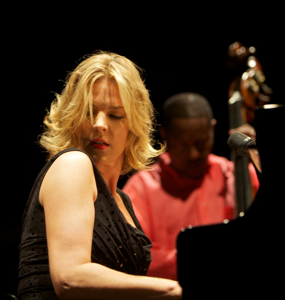 Diana Krall at Jazz à Juan 2<br /> Diana Krall in concert at Jazz à Juan 2010