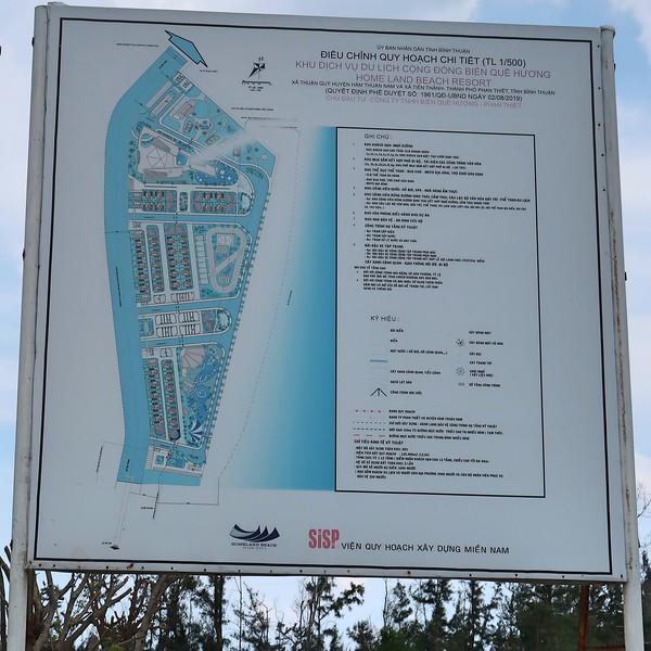 Home Land Beach Resort plan