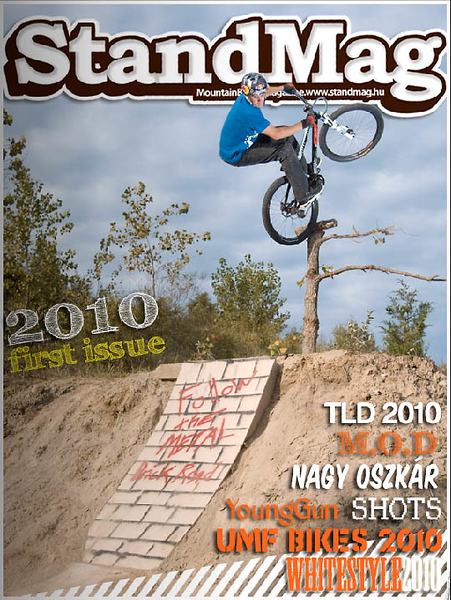 Standmag - Aaron Chase Cover