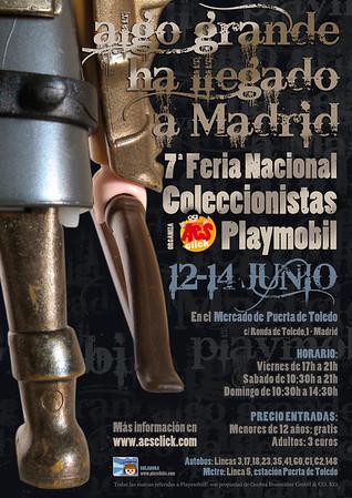 7º Feria Nacional de Coleccionistas de Playmobil