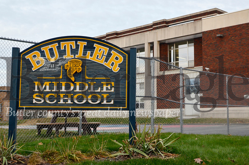 It's for the story slugged school reorganization. Butler Middle School