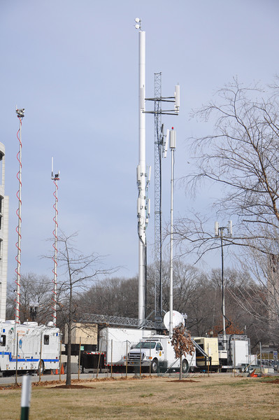 inauguration 09 077--  extra radio towers for emergency workers