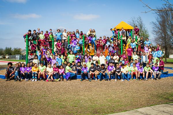 5th Grade Class Photo - March 1, 2018