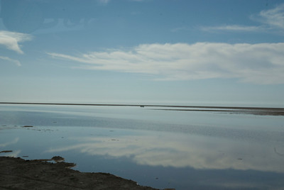 Chott el Jerid - salt lake