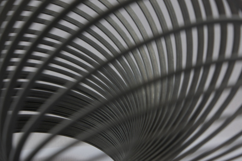 Curves and Coils: A slinky up close