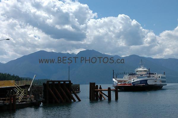 East Shore of Kootenay Lake, British Columbia