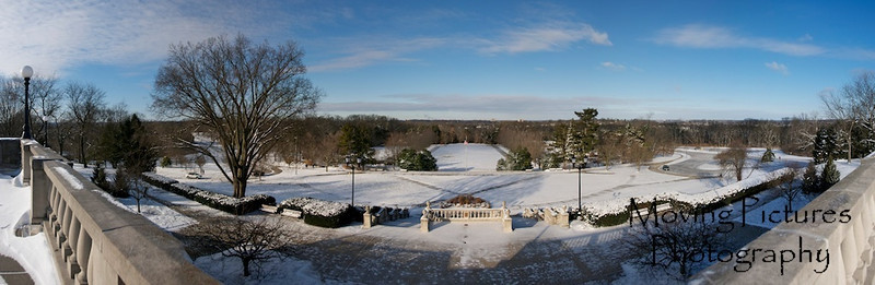 Ault Park Snow
