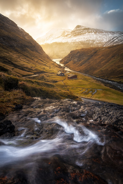 Saksun small waterfall landscape photography faroe islands.jpg