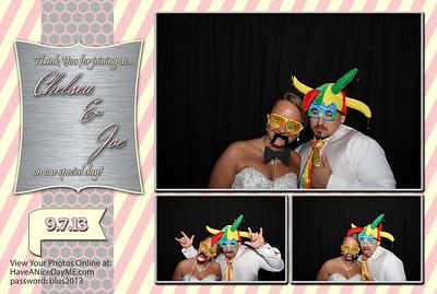 Chelsea & Joe Blus Wedding