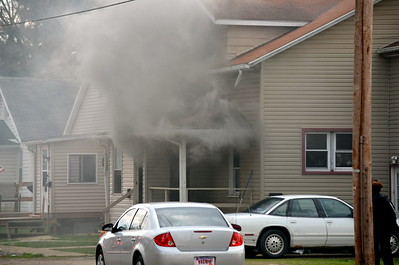 04-13-13 Coshocton FD House Fire