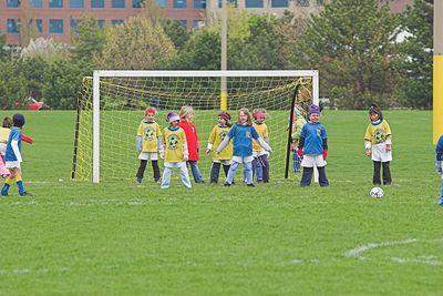 2nd Grade Soccer, April 23,  2005