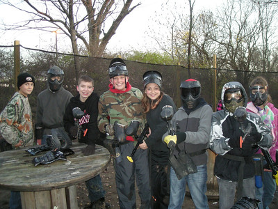TMS Outdoor Club - Paintball - 11-2011