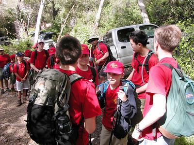 4/2/2005 - Trainig Day Hike #2 @ Trabuco Canyon I