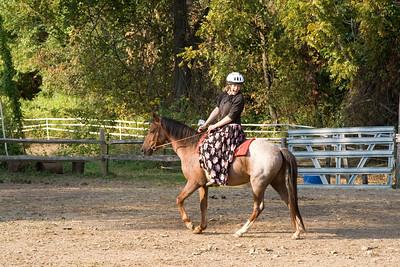 Sandi, Caroline horse show Oct 4, 2008