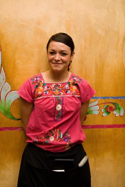 El Patio waitress Mesilla, NM - April 2007