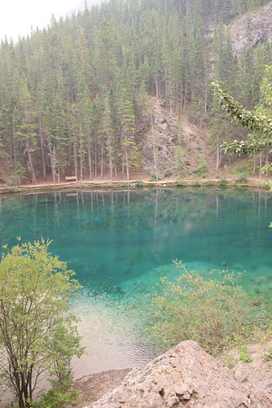 Day 7 - Canmore - Grassi lakes trail