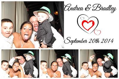Andrea & Bradley Wedding Photo Booth