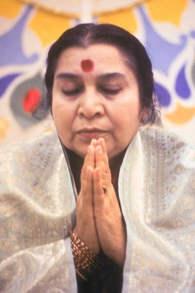 Namaste at Puja