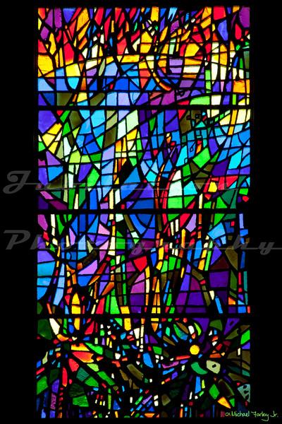 St. Paul's Episcopal Church - Six days of Creation windows - Day 3