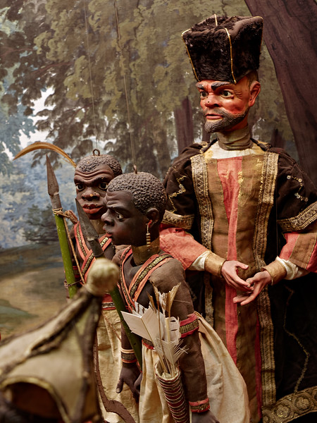 Marionette detail, Borromeo Palace on Isola Bella in Lake Maggiore