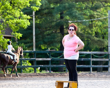 Just a typical day at Palos Hills Riding Stables